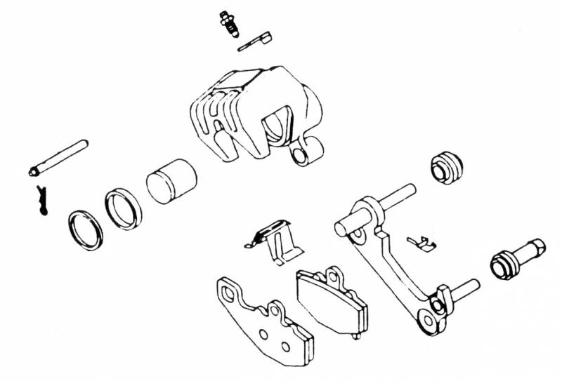 K L Supply Brake Caliper Rebuild Kit 32 1446