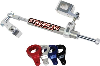 Streamline - Streamline 11-Way Steering Stabilizer BTS-ERB52-BK