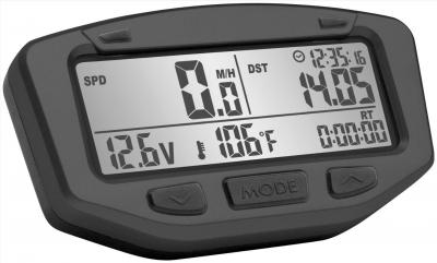 Trail Tech - Trail Tech Striker Digital Gauge - Stealth 712-2030