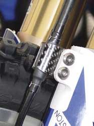 LightSpeed - LightSpeed Carbon Fiber Brake Line Pinch Clamps 191-00000