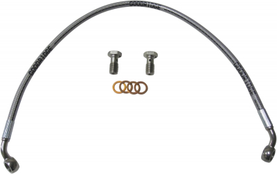Goodridge - Goodridge Street Bike Braided Brake Line Kits SU2878-2FC