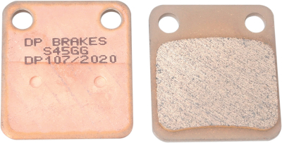 DP Brakes - DP Brakes Standard Sintered Metal Brake Pads DP107