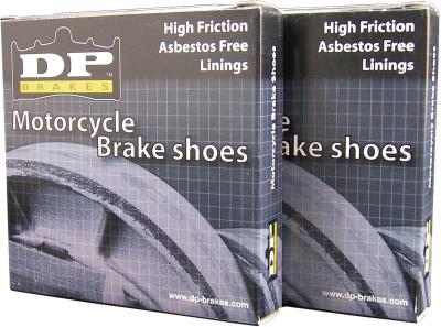 DP Brakes - DP Brakes GF Friction Rated Brake Shoes 9101