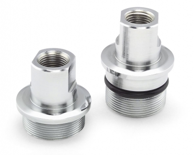 Colony - Colony Chrome Fork Tube Plugs 8716-1