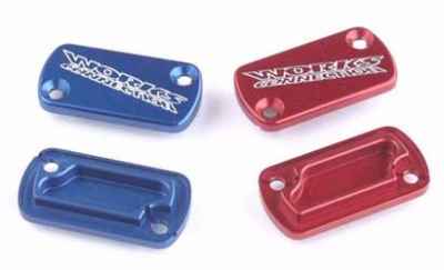 Works Connection - Works Connection Front Master Cylinder Cover 21-005 (RED)