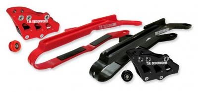 TM Design Works - TM Design Works Baja-Rally Chain Slide-N-Guide Kit HCP-H04-RD