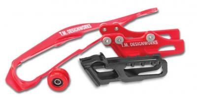 TM Design Works - TM Design Works Dirt Cross Moto Chain Slide-N-Guide Kit MBK-085-OR