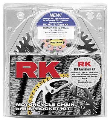RK - RK OE Chain and Sprocket Kit 2108-084AK
