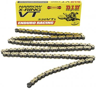 D.I.D. - D.I.D. 520 VT2 Enduro Racing T-Ring Chain 520VT2-120