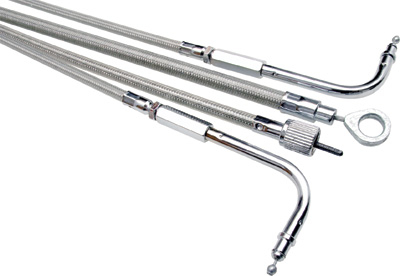 Motion Pro - Motion Pro Armor Coat Stainless Steel Longitudinally Wound Clutch Cable 67-0403