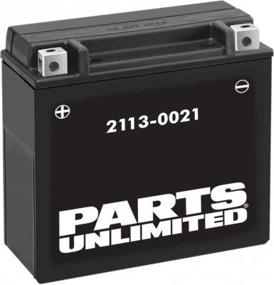 Parts Unlimited - Parts Unlimited AGM Maintenance-Free Battery 2113-0021