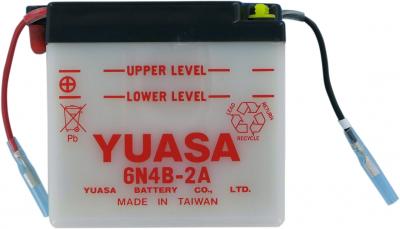 Yuasa - Yuasa Conventional 6V Battery YUAM26B4B