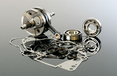 Wiseco - Wiseco Complete Bottom End Rebuild Kit WPC138