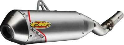 FMF Racing - FMF Racing PowerCore 4 Spark Arrestor Full System with Stainless Steel Header 042002