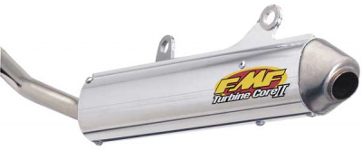 FMF Racing - FMF Racing TurbineCore 2 Spark Arrestor Silencer 020327
