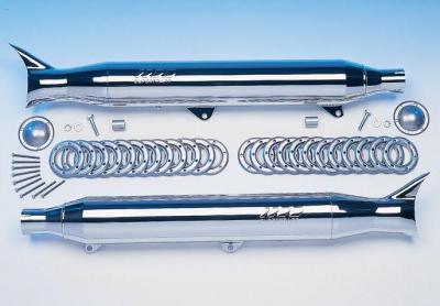 SuperTrapp - SuperTrapp Fishtail Slip-Ons 628-78056