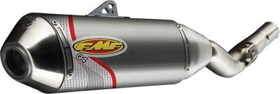 FMF Racing - FMF Racing Q4 Spark Arrestor Slip-On 044285