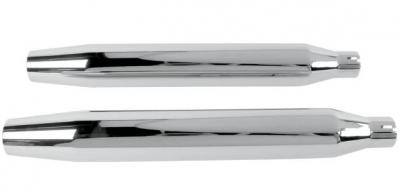 Khrome Werks - Khrome Werks 3in. HP-Plus Slip-On Mufflers 202450