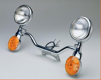 National Cycle - National Cycle Chrome Light Bar N945