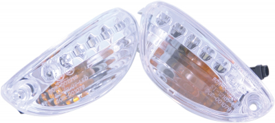 Competition Werkes - Competition Werkes DRL Integrated Turn Signals MPH-12107CC