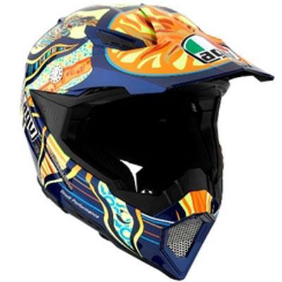 AGV - AGV AX-8 EVO Helmet Rossi 5 Continents 7511O0C0001010