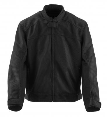 Black Brand - Black Brand Flow Mesh Jacket BB3334
