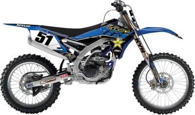 Factory Effex - Factory Effex Rockstar Energy Drink Shroud Kits And Shroud And Complete Graphics Kits 19-14216