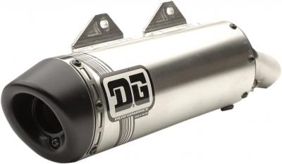 DG Performance - DG Performance V2 Slip-On Muffler 073-4180