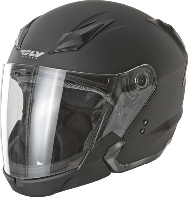 Fly Racing - Fly Racing Tourist Solid Open Face Helmet F73-8101~6