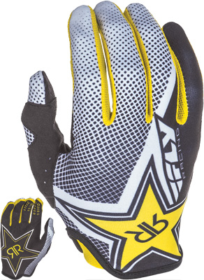 Fly Racing - Fly Racing Lite Rockstar Gloves 370-01907
