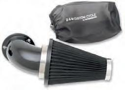 D & M Custom - D & M Custom Ultimate Flow Air Cleaner Kit DM-432-BK
