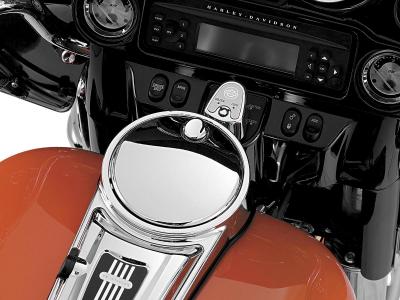 Kuryakyn - Kuryakyn Push Button Fuel Door Latch 1467