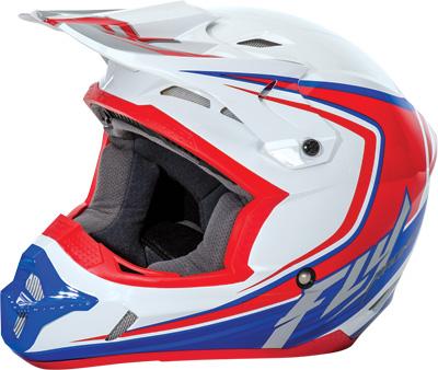 Fly Racing - Fly Racing Kinetic Youth Fullspeed Helmet 73-3373YM