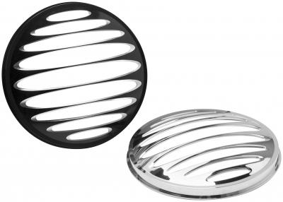 Arlen Ness - Arlen Ness Deep Cut Grill for 7in. Factory Headlights 08-401