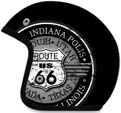 AFX - AFX FX-76 Route 66 Helmet 0104-1151