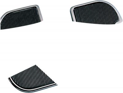 Drag Specialties - Drag Specialties Chrome Passenger Floorboards DS-720233