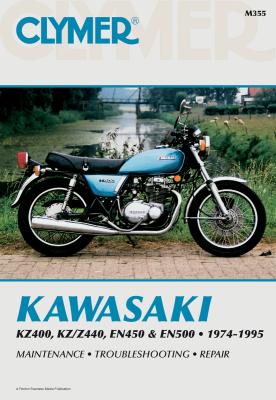Clymer - Clymer Kawasaki Twins Manual M355