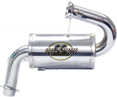 SNO Stuff - SNO Stuff Rumble Pack Single Canister Silencer 331-410