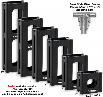 Powermadd - Powermadd Pivot Style Riser Block 45534