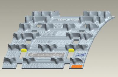 Camoplast - Camoplast Ice Attack XT Hi-Performance Trail Tracks 9190H