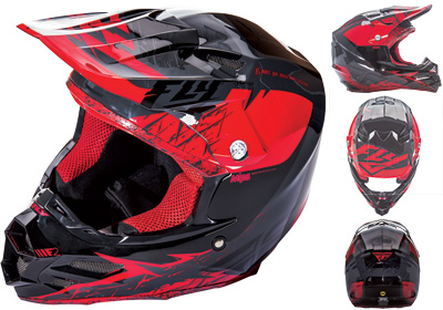 Fly Racing - Fly Racing F2 Carbon MIPS Retrospec Helmet 73-4222L