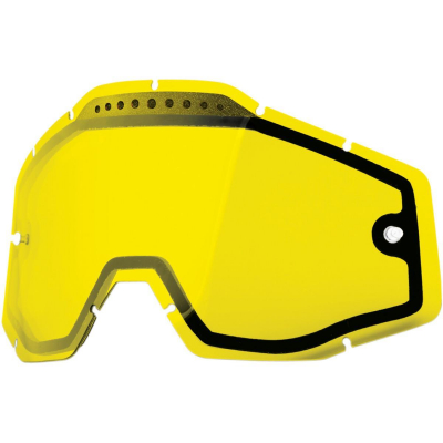100% - 100% Dual Vented Lens for Racecraft/Accuri Goggles 51006-004-02