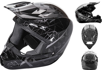 Fly Racing - Fly Racing Kinetic Crux Helmet 73-33812X