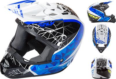 Fly Racing - Fly Racing Kinetic Crux Helmet 73-3383S