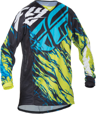 Fly Racing - Fly Racing Kinetic Relapse Jersey 370-425YX