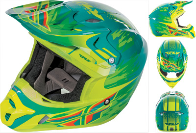 Fly Racing - Fly Racing Kinetic Pro Andrew Short Replica Helmet 73-3314S