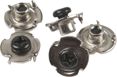 Fly Racing - Fly Racing 6pk. Screws and T-Nuts for Maverik Boot Buckle 360-5041
