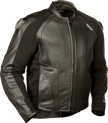 Fly Racing - Fly Racing Apex Leather Jacket #5213 478-700~50