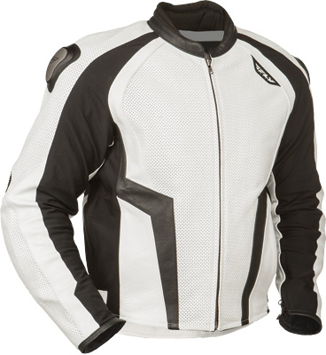 Fly Racing - Fly Racing Apex Leather Jacket #5213 478-701~38