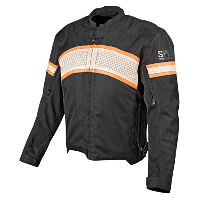 Speed & Strength - Speed & Strength Cruise Missile Textile & Leather Jacket 877778